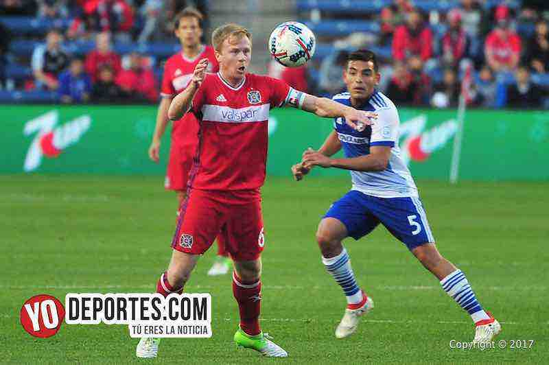 Dax McCarty-Chicago Fire 2-1 Dallas FC