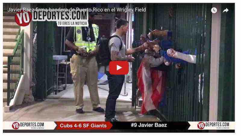 Cachorros de Chicago reaccionan tarde y pierden con Gigantes de San Francisco