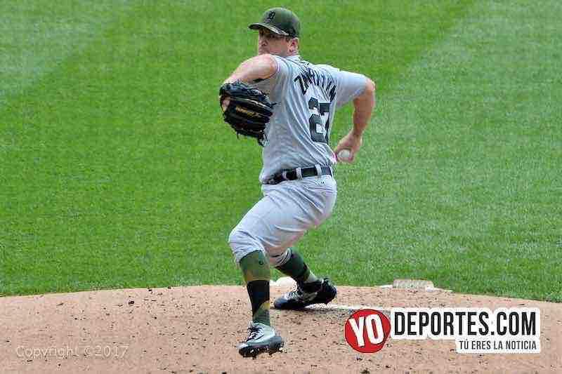 Jordan Zimmermann-White Sox-Tigres Detroit