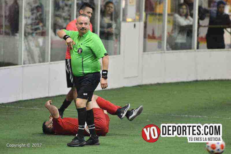 Los Merengues-Estrella Roja-Chitown Futbol-arbitro