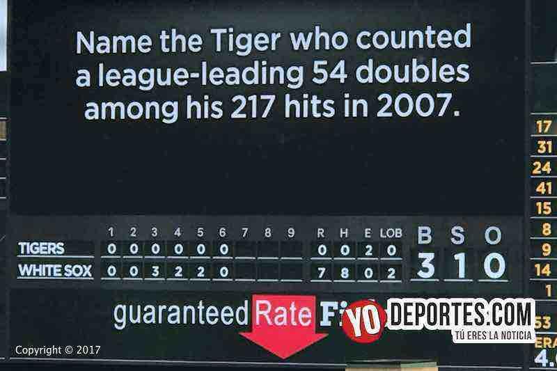 Miguel Gonzalez-juego perfecto medias blancas'tigres detroit