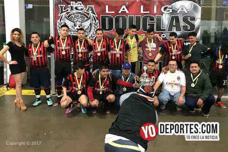 Milan-campeon-Liga Douglas final