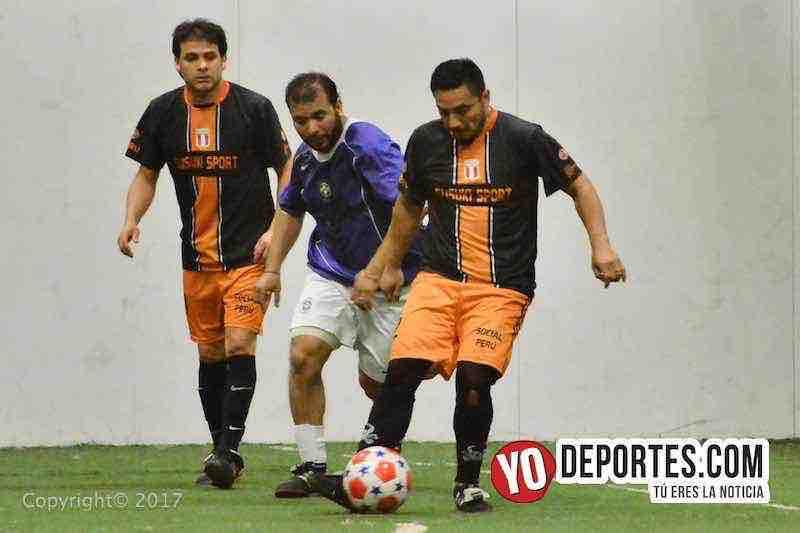 Social Peru-Allende Taconazo-Chitown Futbol-veteranos