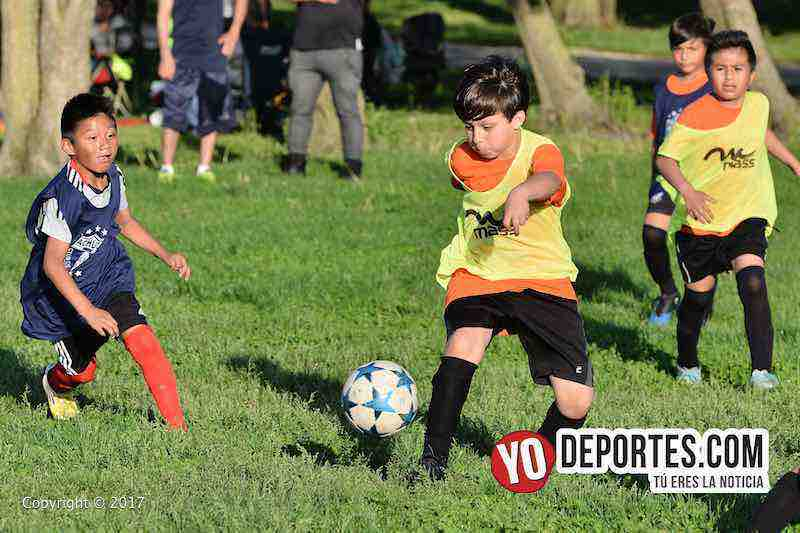 Tuzos Chicago Soccer Academy-entrenamiento