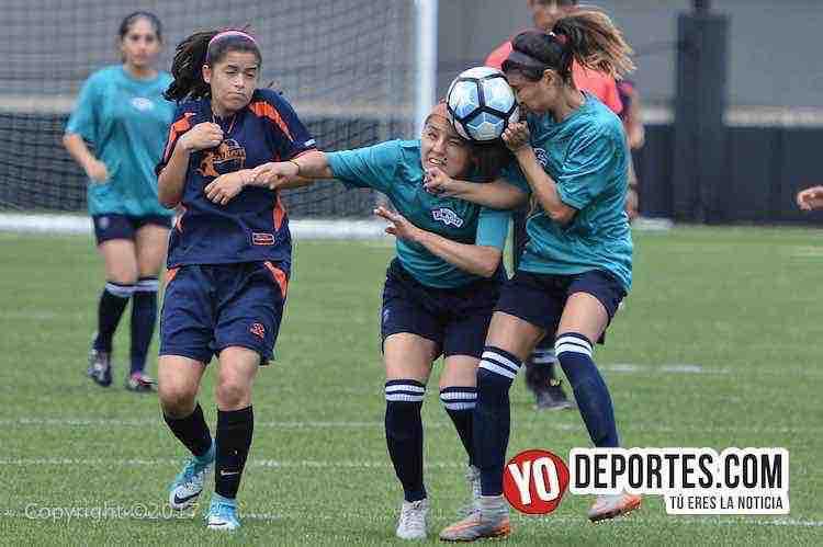 Chicago Premier golea a La Juve y se convierte en favoritas del Torneo Internacional Pollo Cris Cris