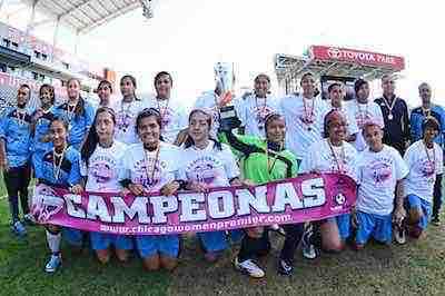 Torneo Internacional de Futbol Femenil Premier llega a Chicago