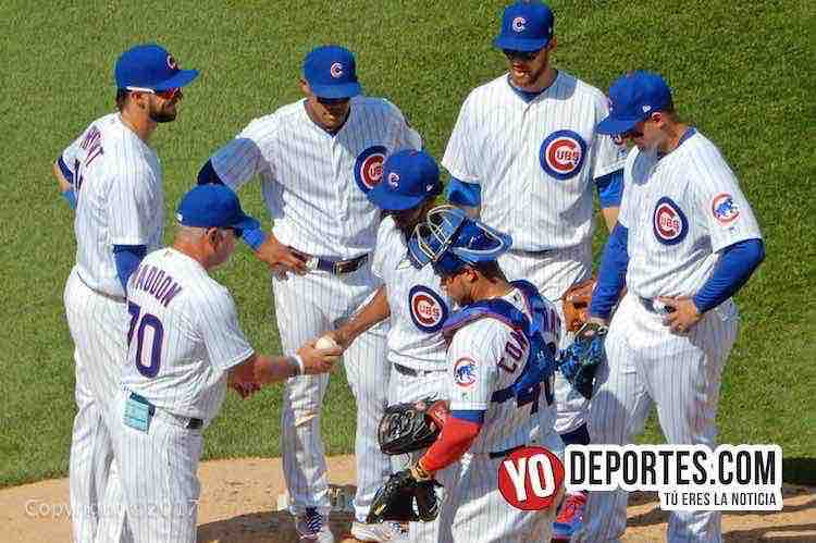 Joe Maddon-Card Edwards Jr-Cubs-Cardenales