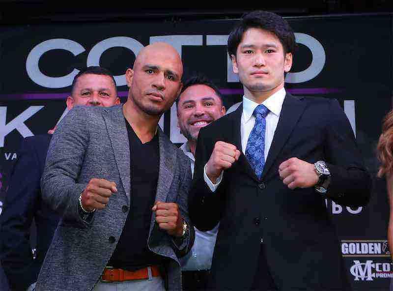 Miguel Cotto y Yoshihiro Kamegai se enfrentarán el 26 de agosto por el título vacante WBO medio ligero en el StubHub Center en Carson, California.