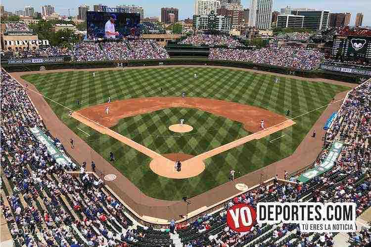 Estadio Wrigley Field la casa de los Cachorros de Chicago