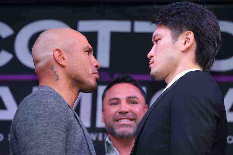 Miguel Cotto y Yoshihiro Kamegai se enfrentarán el 26 de agosto en el StubHub Center en Carson, California.