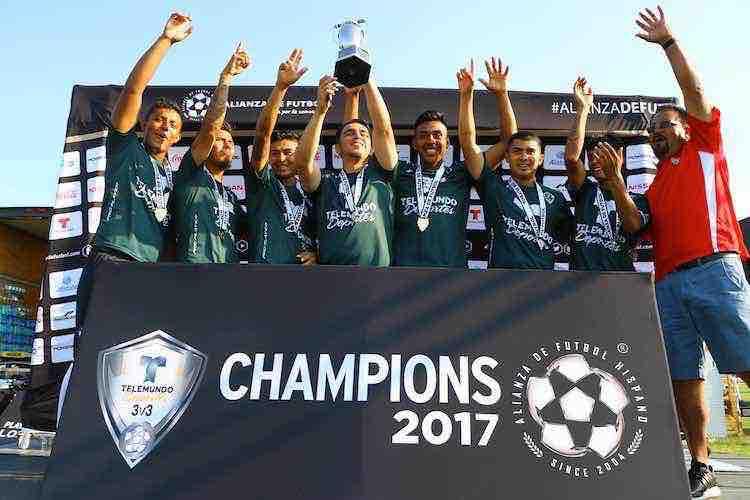 Barrileros FC-Telemundo Deportes 3v3