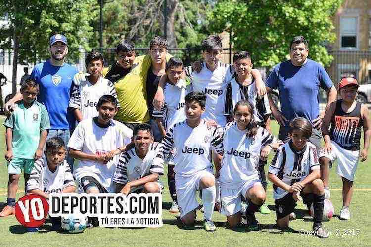 Así ganó Cicero United ante el Arsenal en Latino Premier Academy Soccer League