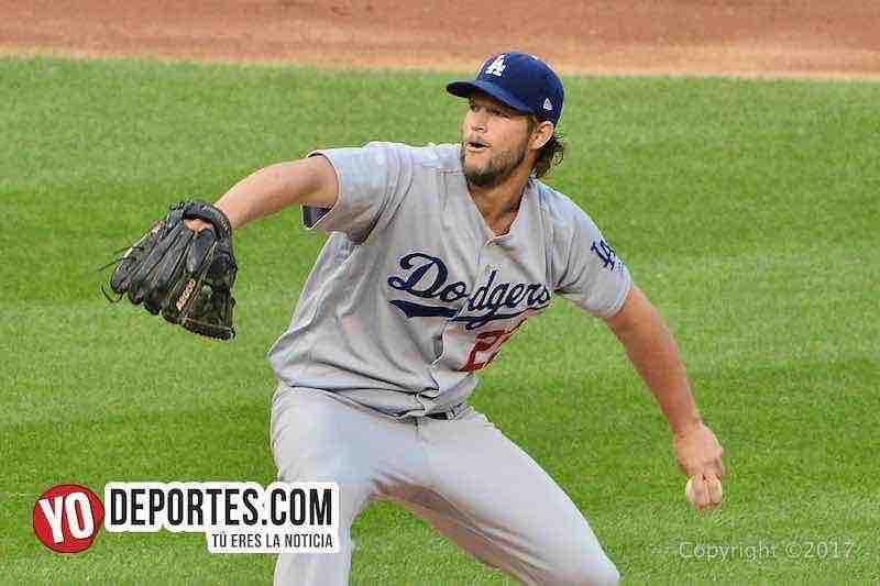 Clayton Kershaw-Medias Blancas-White Sox-Dodgers
