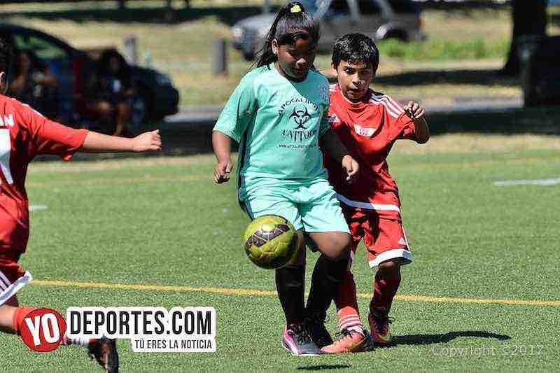 Choque de ángeles en Latino Premier Academy Soccer League