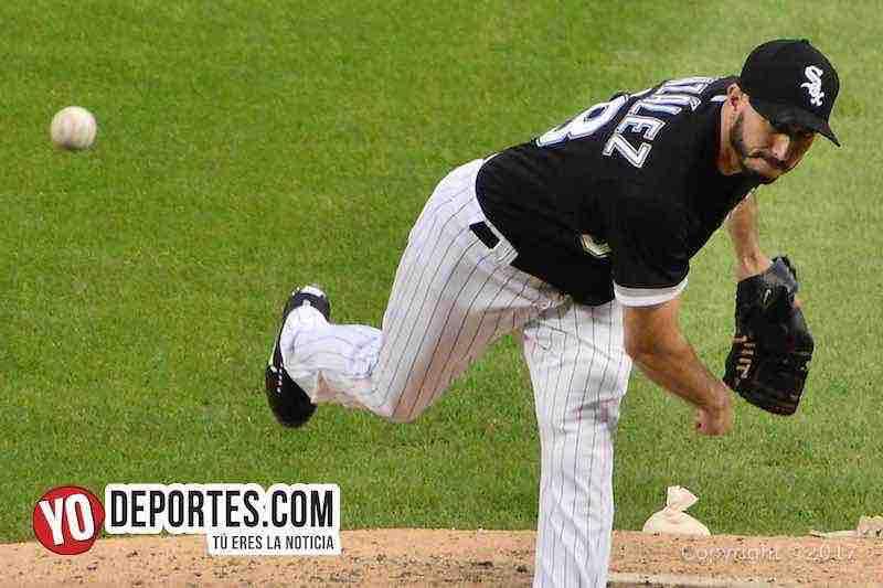 Miguel Gonzalez-Medias Blancas-White Sox-Dodgers