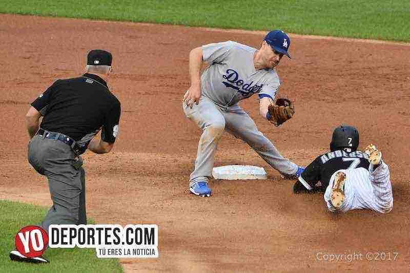 Tim Anderson-Medias Blancas-White Sox-Dodgers