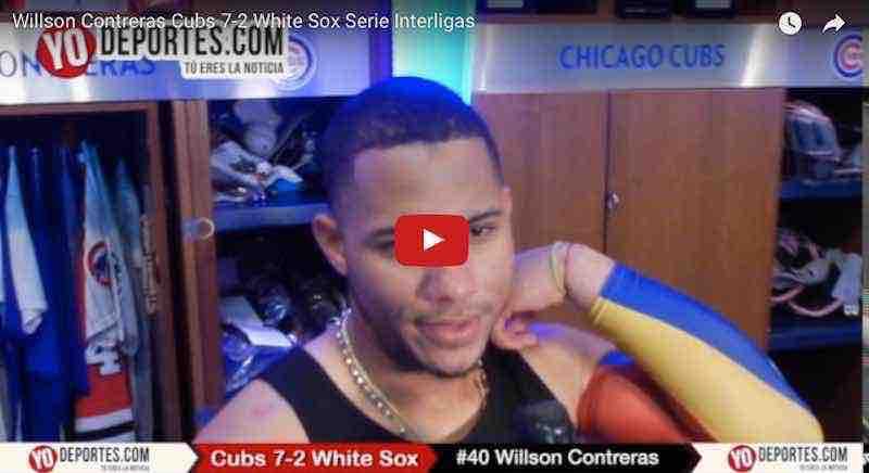 Willson Contreras y su bate acaban con los Medias Blancas