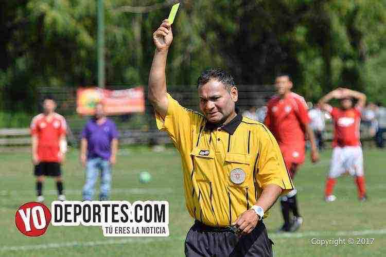 Arbitro Armando Ortega-Adjuntas-Devils 5 de Mayo Soccer League