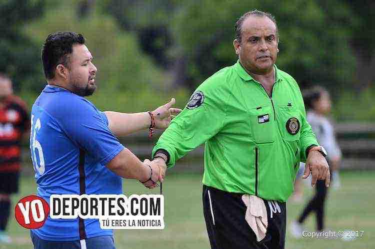 Arbitro-Artilleros Brasil-Yuriria-Liga 5 de Mayo