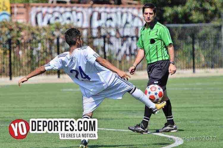 Arbitro Carlos Martin-United Stars-Germany-Chitown Futbol-Benito Juarez