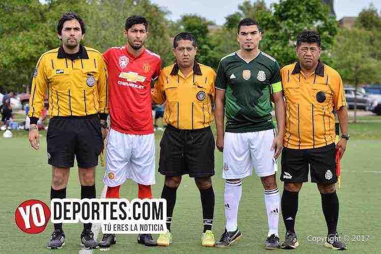Arbitro Carlos Vallejo-Alvaro Cortina-Richard Peralta-Douglas Boys-Estrella Blanca-Liga Douglas