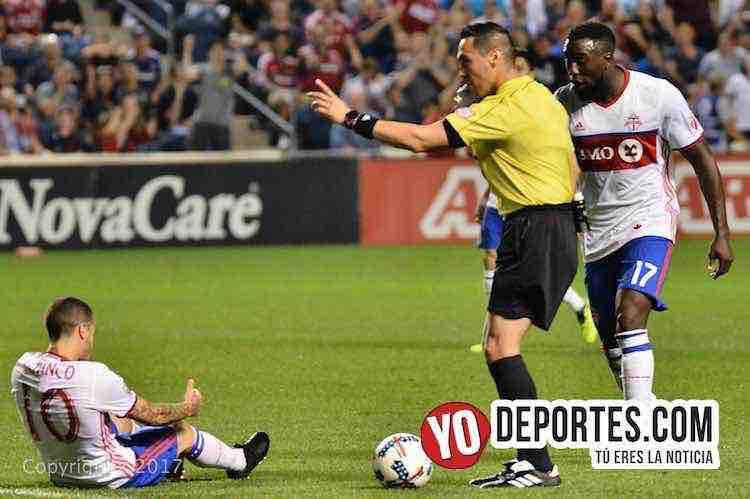 Chicago Fire-Toronto FC-arbitro Jair Marrufo-