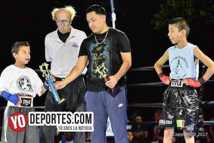 Chris Figuera vs. Romeo Andrade Harrison Park Boxing Show