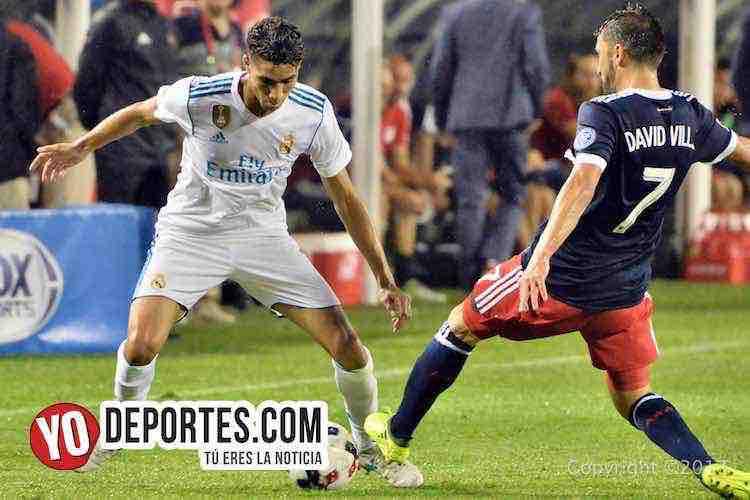 David Villa-Real Madrid-MLS Allstar-Soldier Field