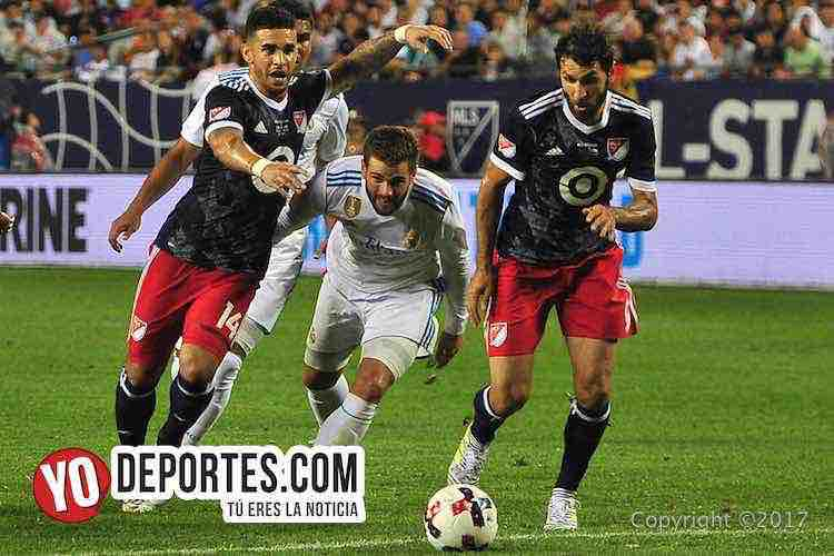 Dom Dwyer-Real Madrid-MLS Allstar-Soldier Field