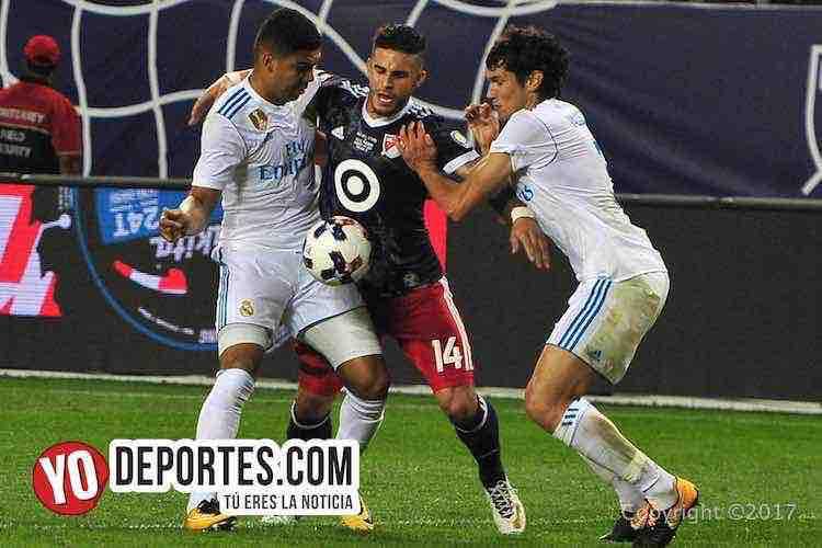 Dom Dyer-Real Madrid_MLS Allstar-Soldier Field