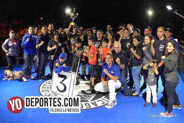 Noche de campeones en Harrison Park Boxing Show