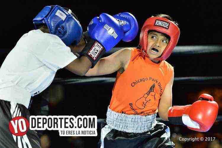 Jose Acuña vs. Cedric Murphy Harrison Park Boxing Show