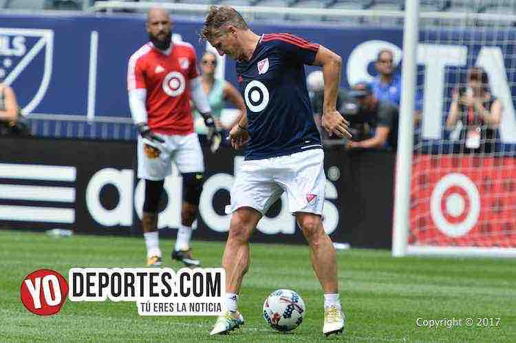 MLS Allstar Game-Soldier Field-practice