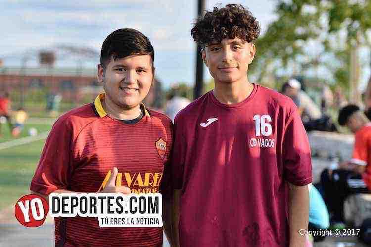Marco Chavez-Alexis Gomez-Deportivo Roma-Chicago Soccer League