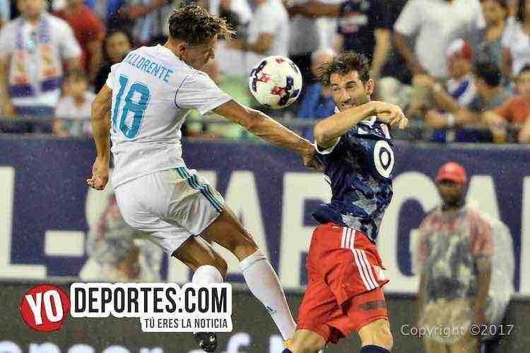 Marcos Llorente-Real Madrid-MLS Allstar-Soldier Field