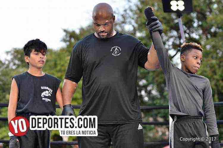 Mekhi Dailey vs. Sammuel Hernandez Harrison Park Boxing Show