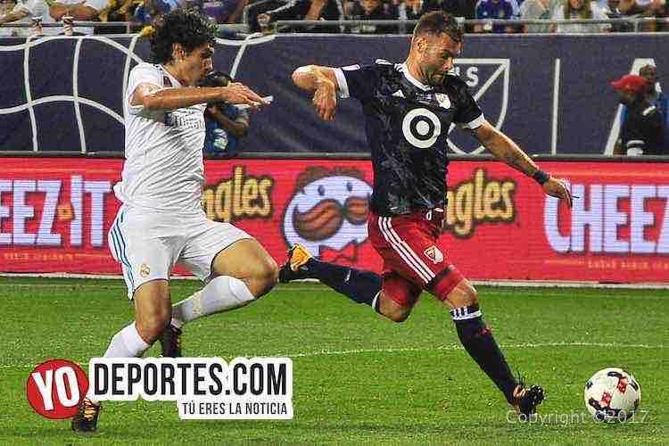 Nemanja Nikolic-Real Madrid-MLS Allstar-Soldier Field