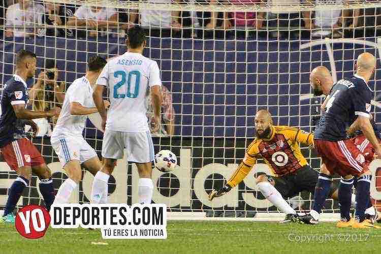 Portero-Real Madrid-MLS Allstar-Soldier Field