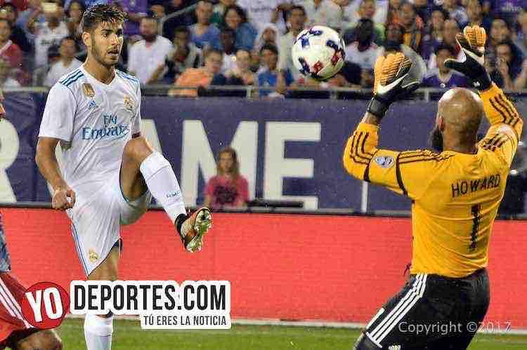 Real Madrid necesitó penales para ganarle a la MLS All Stars