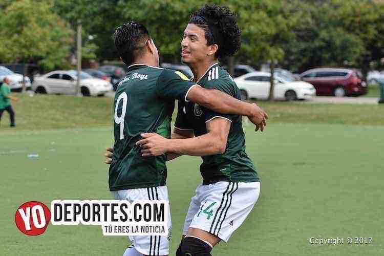 Rafael Flores-Xavier Salinas-Douglas Boys-Estrella Blanca-Liga Douglas
