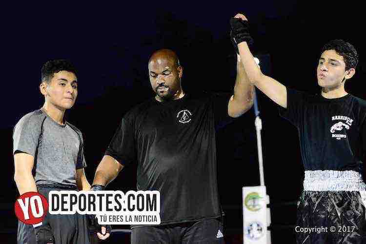 Seth Solis vs. Danny Lopez Harrison Park Boxing Show
