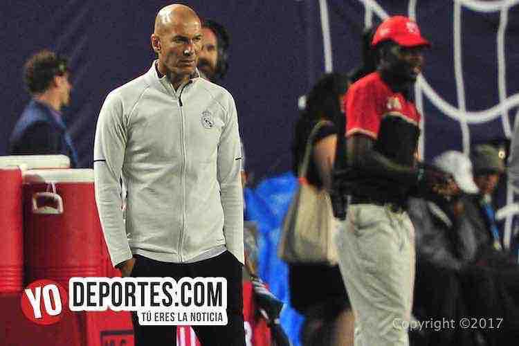 Zinedine Zidane-Real Madrid-MLS Allstar-Soldier Field