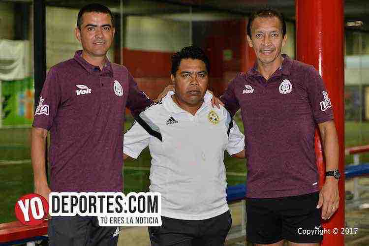 Arbitro Hugo Leon Guajuardo-Miguel Angel Ayala-Liga RESA Arbitros