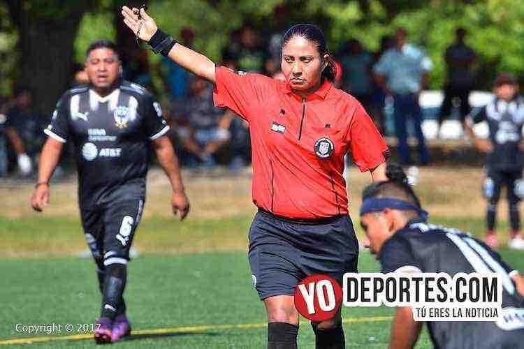 Arbitro Rosalba Luna-Deportivo Oro-Hidalgo Veracruz-Liga Douglas