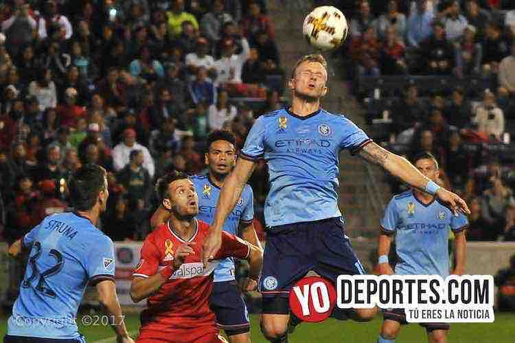 Chicago Fire-New York City FC-Luis Solignac-