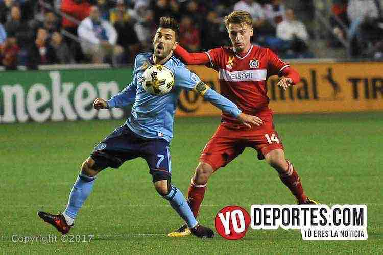 Chicago Fire-New York City FC-empate