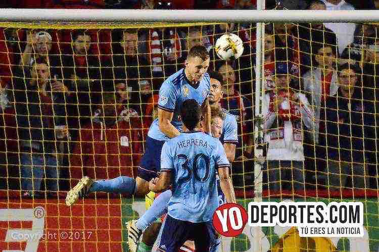 Chicago Fire-New York City FC-portero