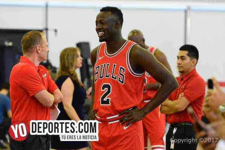 Jerian Grant-Chicago Bulls Media Day