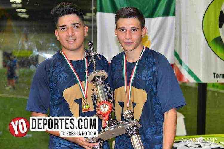Pumas Floresta-Atlante-Liga 5 de Mayo-campeones viernes