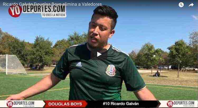 El rival no nos importa mucho: Ricardo Galván de Douglas Boys